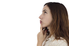 Решать женщины Стоковые Фотографии RF