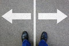 Решение решает solut успеха целей бизнесмена концепции дела Стоковое Изображение