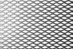 Решетина расширенная металлом на белой предпосылке Стоковое фото RF