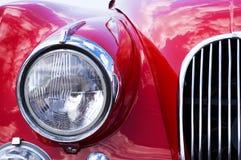 решетка автомобиля близкая вверх Стоковая Фотография RF