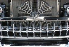 Решетка автомобиля крома Стоковое фото RF