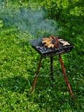 решетка барбекю Стоковое фото RF