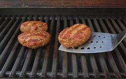 решетка бургеров Стоковое Изображение RF
