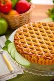 Решетка вертикального всего печенья яблочного пирога кислого очень вкусная золотая коричневая Стоковая Фотография RF