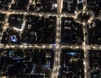 Решетка города городская Стоковая Фотография