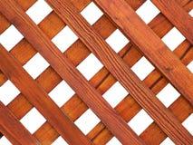решетка деревянная Стоковое Фото