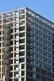 Решетка здания под конструкцией Стоковое Изображение