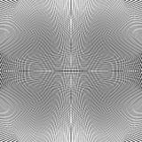 Решетка динамических линий Плавно repeatable картина сетки Disto Стоковое Изображение