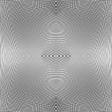 Решетка динамических линий Плавно repeatable картина сетки Disto Стоковое Фото
