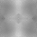 Решетка динамических линий Плавно repeatable картина сетки Disto Стоковое Изображение RF