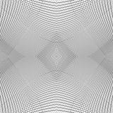 Решетка динамических линий Плавно repeatable картина сетки Disto Стоковая Фотография