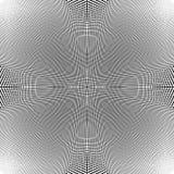 Решетка динамических линий Плавно repeatable картина сетки Disto иллюстрация вектора