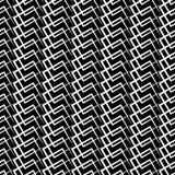 Решетка, искажение сетки Линии Deformed пересекая Геометрическое PA Стоковое Изображение RF