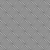 Решетка, искажение сетки Линии Deformed пересекая Геометрическое PA Стоковые Изображения RF