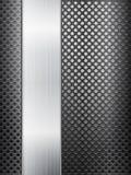 Решетка и лист металла Стоковое Фото