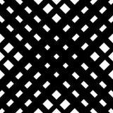 Решетка, картина сетки безшовная геометрическая Monochrome текстура Vecto Стоковое фото RF
