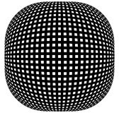 Решетка, картина сетки с искажением абстрактная геометрическая картина Стоковое фото RF