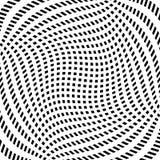 Решетка, картина сетки с искажением абстрактная геометрическая картина Стоковое Фото