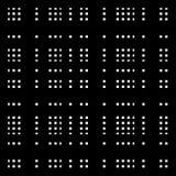 Решетка, картина сетки с скачками несимметричными толстыми линиями иллюстрация вектора
