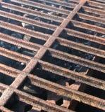 решетка крупного плана барбекю Стоковая Фотография RF
