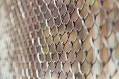 Решетка металла на природе Стоковые Изображения RF