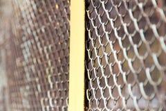 Решетка металла на природе Стоковые Фото