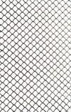 Решетка металла на белой предпосылке Стоковая Фотография