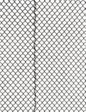 Решетка металла на белой предпосылке Стоковые Фото