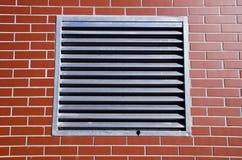 Решетка металла на новой стене Стоковое Изображение RF