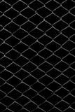 Решетка металла на черной предпосылке Стоковые Фото