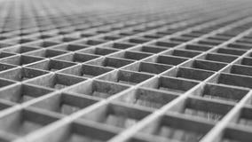 Решетка металла с малой решеткой клеток Стоковые Изображения