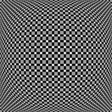 Решетка, мозаика квадратов с различными эффектами искажения r Стоковые Фотографии RF