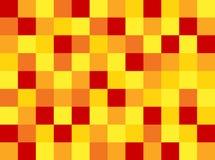 Решетка мозаики в горячем тоне и случайном цвете иллюстрация вектора