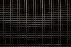 Решетка на черной предпосылке Стоковое Изображение RF