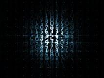 решетка нумерует космос Стоковое Изображение RF