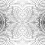 Решетка передернутых динамических линий repeatable Изогнутые линии geomet Стоковое Изображение