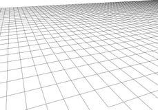 Решетка перспективы вектора Абстрактная предпосылка сетки Полигональные горы ретро предпосылка научной фантастики 80s r иллюстрация вектора