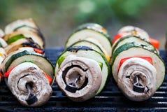 решетка плюет овощ Стоковое фото RF