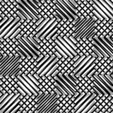 Решетка, сетка, зигзага, нервные линии Мозаика любит гриль, grating ба Стоковые Изображения