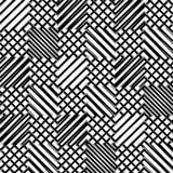 Решетка, сетка, зигзага, нервные линии Мозаика любит гриль, grating ба Стоковое Изображение