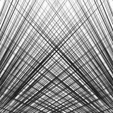 Решетка, сетка динамических линий сложной формы Абстрактное геометрическое trelli иллюстрация штока