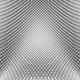 Решетка, сетка линий с динамическим эффектом искажения Геометрическое PA Стоковые Фото