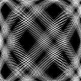 Решетка, сетка, пересекая выравнивает картину с выпуклым искажением L Стоковая Фотография