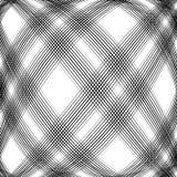 Решетка, сетка, пересекая выравнивает картину с выпуклым искажением L Стоковые Фотографии RF