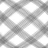 Решетка, сетка, пересекая выравнивает картину с выпуклым искажением L Стоковое Изображение RF