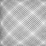 Решетка, сетка, пересекая выравнивает картину с выпуклым искажением L Стоковая Фотография RF