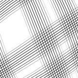 Решетка, сетка, пересекая выравнивает картину с выпуклым искажением L Стоковые Изображения