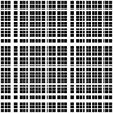Решетка, сетка пересекая линий абстрактный monochrome предпосылки Стоковое Изображение