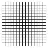 Решетка, сетка, пересекая линии изолированные на белизне иллюстрация вектора