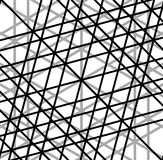 Решетка, сетка скачками случайных линий художническое геометрическое изображение, иллюстрация штока